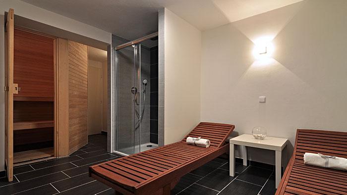 Sauna a relaxační místnost